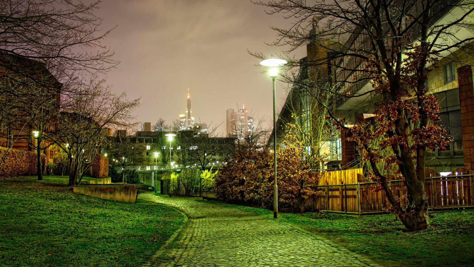 осенний город картинки